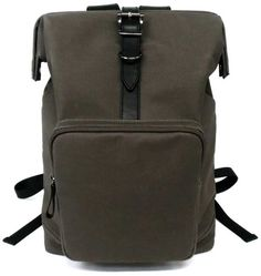 DULLES BACKPACK / PVC COATING COTTON / LEATHER