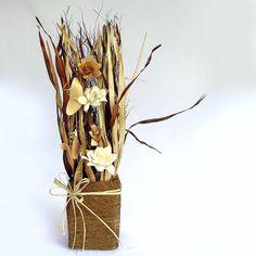 Exclusive Dry Flowers Arrangement-Flowers-GinniBloom