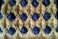 Tic Tac Toe Stitch, free pattern for a beautiful scarf at http://www.learnhowtoknitascarf.com/tic-tac-toe-scarf-part-1/