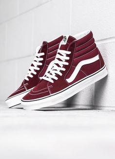 We are sneakers. Vans Sneakers, Vans Shoes, Sneakers Fashion, High Top Sneakers, Sk8 Hi, Vans Slip On, Vans Off The Wall, Brown Canvas, Rubber Shoes