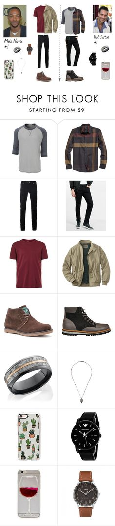 """""""Mike Harris #1 & Paul Sartori #1"""" by giihbms on Polyvore featuring Raoul, LE3NO, GUESS, Diesel Black Gold, Express, Topman, Woolrich, Lacoste, Lanvin e Casetify"""
