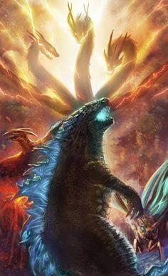 Pacific Rim Movie, Godzilla Wallpaper, Ghost Busters, Japanese Film, King Kong, Cthulhu, Jurassic World, Monster, Supernatural