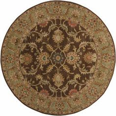 Surya Caesar CAE-1009 Chocolate, Rust Area Rugs