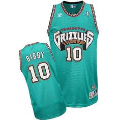 0a5ad30f50f ... Champion NBA Vancouver Grizzlies Mike Bibby 10 Away Throwback Jersey ...