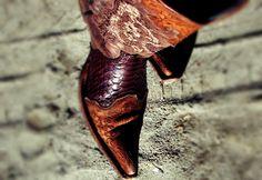Chevron-Aztec Dress | Orange Necklace | Cowgirl boots | Old Gringo/Corral | Louis Vuitton | Beach | Blogger: The Retail Therapist