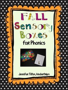 Sensory Boxes for Phonics - Fall$$