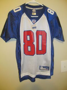 15f232535 Details about Jeremy Shockey - New York Giants jersey - Reebok Youth Medium