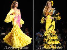 Diseños en amarillo de #PilarVera en #Simof2014.