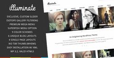 - Isotope jQuery filtering  - Mega Menu Awesomeness  - exclusive, custom jQuery slider that you cannot find anywhere else