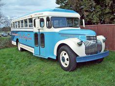 Chevrolet School Bus (1942) by robertknight16, via Flickr