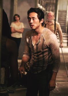 """To wrap everything up, Glenn is underratedly hot. 