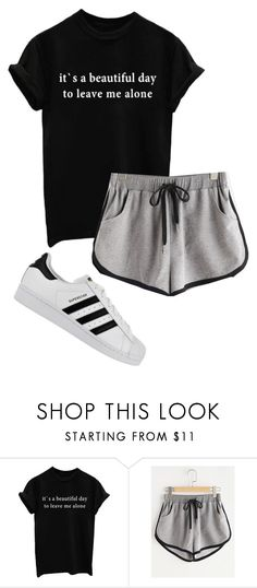 """""""yes"""" by allybean331 on Polyvore featuring adidas"""