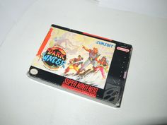 Old Super Nintendo game by Sunsoft
