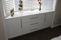 bay window cabinet storage in kitchen - Google Search