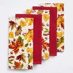 The Big One® Leaf Orchard Kitchen Towel 5-pk.