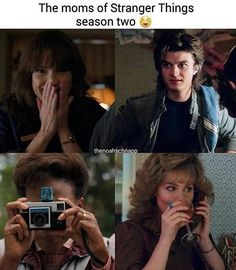 mom cause we can't ever forget her R.P MewsDustin's mom cause we can't ever forget her R.P Mews Stranger Things Fotos, Stranger Things Have Happened, Stranger Things Steve, Stranger Things Funny, Stranger Things Netflix, Stranger Things Season, Bobby Brown, Prince Charmant, Joe Keery