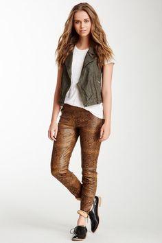 Jamison Leather Pant