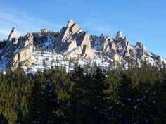 The Palisades in Red Lodge, Montana.