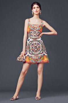 Dolce & Gabanna Fall Winter 2014 fashion