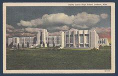 Postcards - United States #  906 - Bailey Junior High School, Jackson, Mississippi