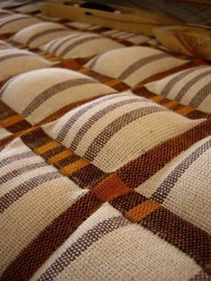 Double weave stuffed while weaving