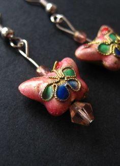 Kaufe meinen Artikel bei #Kleiderkreisel http://www.kleiderkreisel.de/accessoires/ohrringe/141959002-schone-selbstgemachte-ohrringe