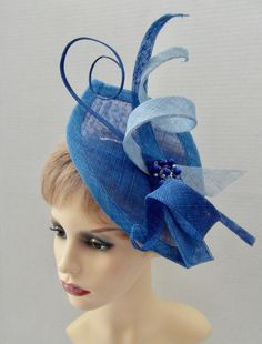 Fascinators, Ladies Day, Blue Wedding, Mother Of The Bride, Celine, Special Occasion, Crochet Hats, Trending Outfits, Racing