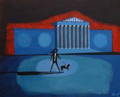 artist dimitri polychronopoulos Original Artwork, Gallery, Artist, Facebook, Art Work, Euro, Paintings, Oil, Canvas
