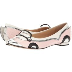 Katy Perry The Shannon (Baby Pink Patent) Women's Shoes ($129) ❤ liked