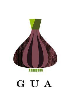 Guacamole - 4  Original illustrations to print or Download - No. 17