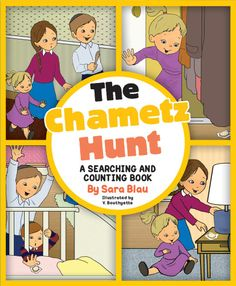 It's almost Pesach. That means it's time to check the entire house for chametz! Mommy hid 10 pieces of chametz for us to find as we search the house. Can we count to 10 as we find them?