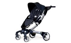 We are obsessed with this stroller! (It folds up by itself!)