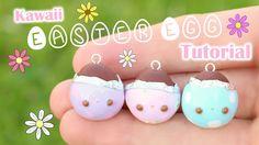 Kawaii Easter Egg Charm│Polymer Clay Tutorial