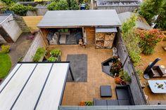 Strak aangelegde tuin, onderhoudsvriendelijk en toch heel sfeervol!