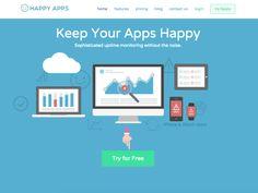 Happy Apps, pour surveiller facilement les pannes d'un site Web ou d'une application