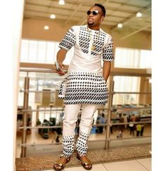 Top Ten Simple And Creative Aso Ebi Styles For Men  Dabonke