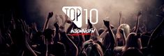 Top 10 mixes of the week on INSOMNIAFM, based on listener tune, on demand and premium subscription from June 2019 01