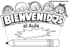 APOYO ESCOLAR ING MASCHWITZ: CARTELES DE BIENVENIDOS A CLASE