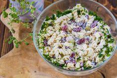 Pasta Salad, Grains, Rice, Impreza, Ethnic Recipes, Food, Crab Pasta Salad, Essen, Meals