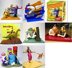 NEW Hanna Barbera vol.2  7 FULL SET - Shazzan, Top Cat, ASUNARO Japan Toy Figure