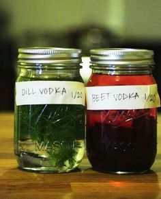 My New Kitchen Project: Beet and Dill Infused Vodka