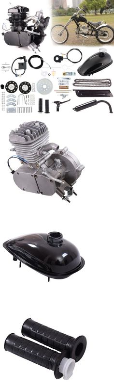 Other Bike Components and Parts 57267: 80Cc 2-Stroke Engine Motor Kit For Motorized Bicycle Bike Gas Powered Black -> BUY IT NOW ONLY: $95.99 on eBay!