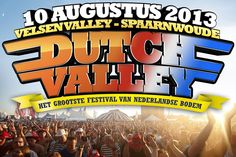 Bezoek het Dutch Valley Festival in Spaarnwoude! Op 10 augustus 2013 vindt in Velsen Valley Spaarnwoude voor de derde keer Dutch Valley Festival plaats. #Festival #vaderdag #cadeau
