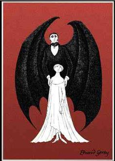Just about my favorite artist, Edward Gorey. I have always wanted this print!