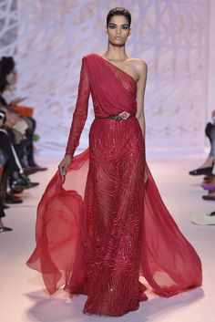 Zuhair Murad Couture Fall 2014 - Slideshow - Runway, Fashion Week, Fashion Shows, Reviews and Fashion Images - WWD.com