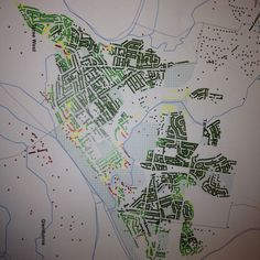 Flood maps - not every house in this town is a flood risk