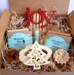 SOAP GIFT SET   Soap Gift Basket  Holiday by CricketCoveSoapCo