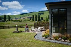 A beautiful spot to sit and enjoy the surrounding New Zealand countryside.