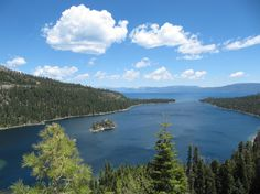 Have you ever seen a nicer bay than Emerald Bay?   32 Reasons California Is The Most Beautiful State In The Country