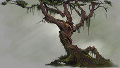 ArtStation - Jungle Tree , Lauren Altman